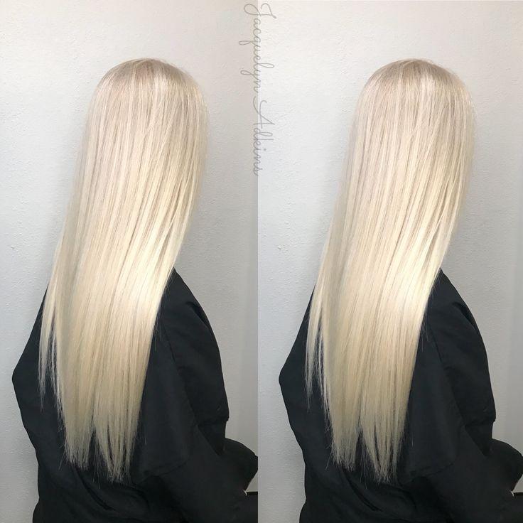 Blonde hair bleach blonde hair cool ashy blonde long blonde hair