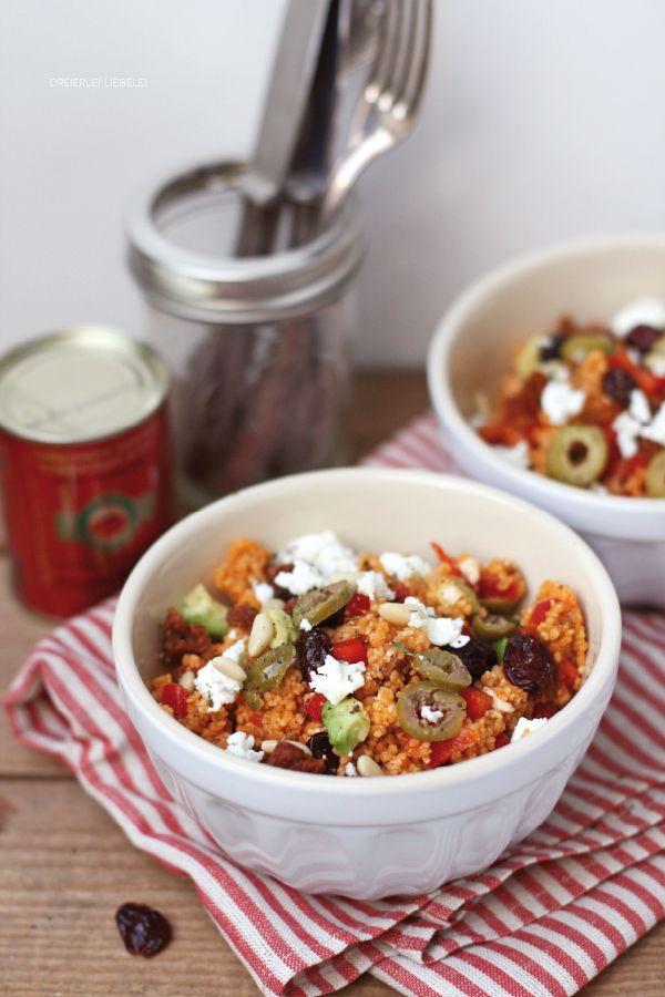 Couscous-Salat von http://dreierlei-liebelei.blogspot.de