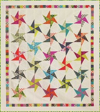Stars by Carrie HookQuiltSM2