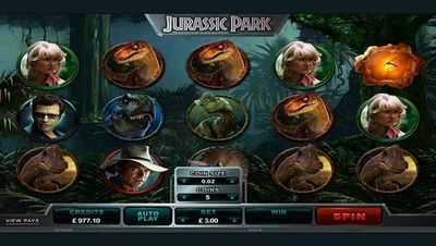 Jurassic Park™ online slot. Discover a world of extraordinary visual and acoustic depth, where exquisitely rendered environments, seamlessly animated dinosaurs and a spectacular parallax design bring one of Hollywood's most iconic and imaginative creations to life like never before. Jurassic Park is one of the most successful films of all time, generating over $1 billion at the box office and winning three Oscars, two BAFTAs and twenty other industry awards. Featuring 243 ways to win across…
