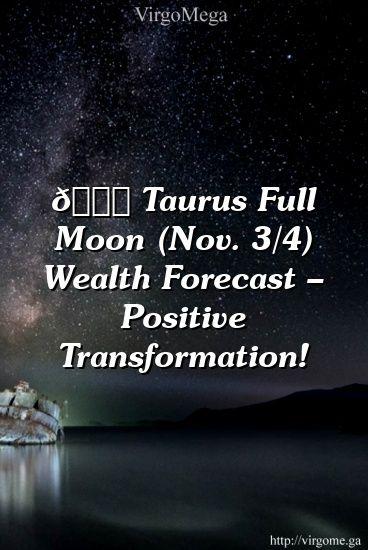 taurus astrology november 3