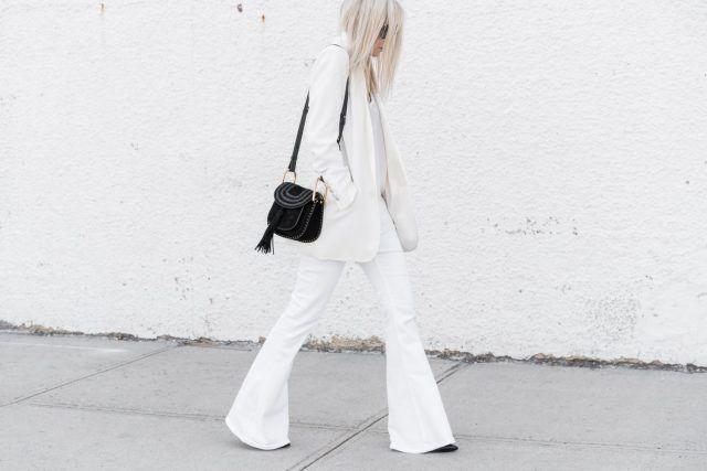 Beyaz Kıyafet Kombinleri   Güzelkız.com
