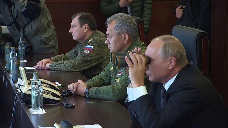 Путин наблюдал российско-белорусские учения «Запад-2017» Видео- https://youtu.be/l8qWnOX2WsI
