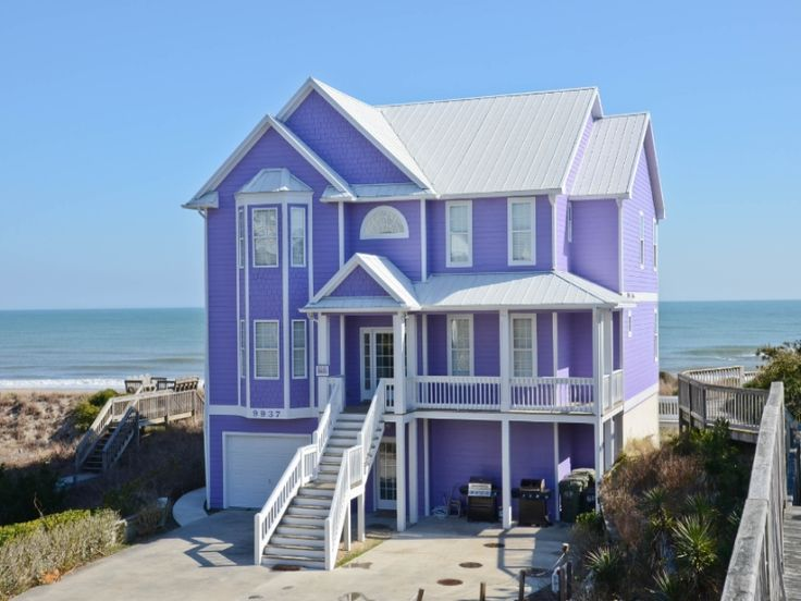 Grand Finale A 8 Bedroom Oceanfront Rental House In Emerald Isle Part Of The Crystal Coast Of