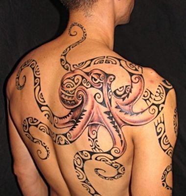 Tatouage: Maori octopus_8                                                       …