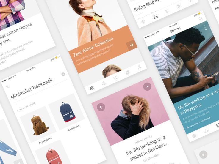 Fashion app (iOS) Sneak Peek