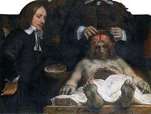 #Rembrandt on 안악3호분 安岳3號墳 357 #Goguryeo 주인도 with la 백라관  https://ko.wikipedia.org/wiki/안악_3호분 Rembrandt Harmenszoon van Rijn (Dutch, 1606–1669), The Anatomy Lesson of Dr. Deijman, 1656, 100×134cm (39 in×53in), Hermitage Amsterdam, Amsterdam.