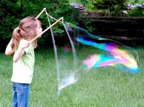 how to make a bubble stick