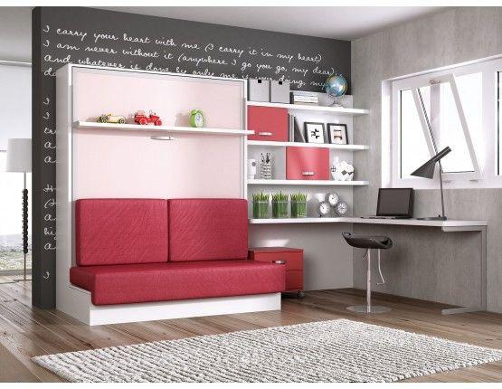 17 mejores ideas sobre habitaciones juveniles modernas en for Camas divan juveniles