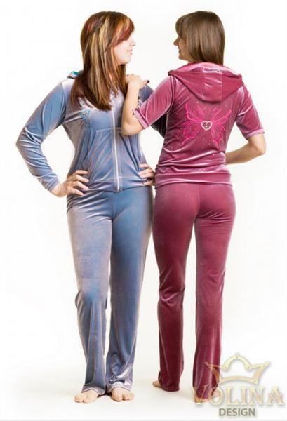 Велюровые женские костюмы купить
