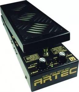 artec apw-7 pedal para guitarra whish wah dual frete grátis