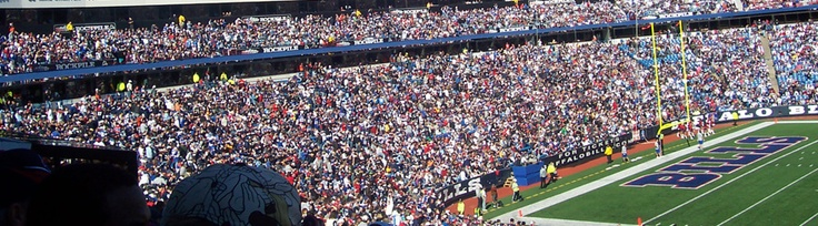 Ralph Wilson Stadium, home of the Buffalo Bills!