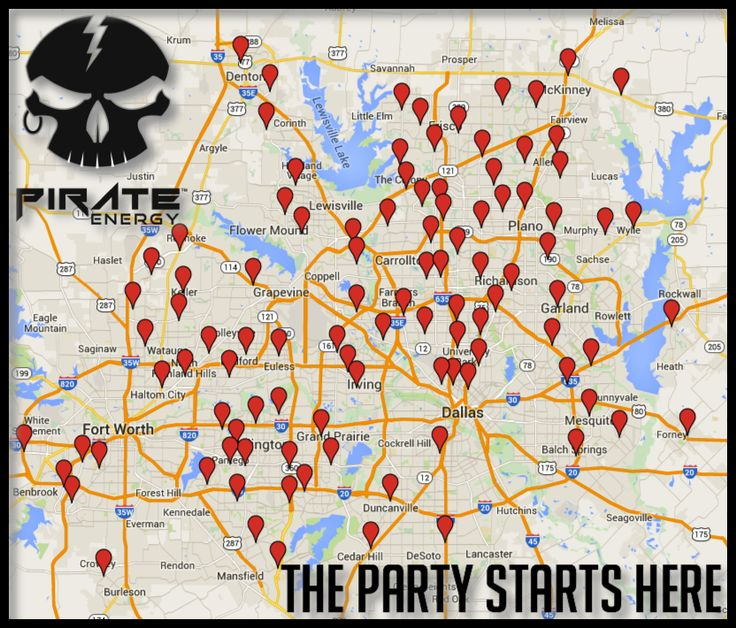 Want to get the party started in the dallasft worth area