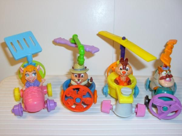 Chip n Dale Rescue Rangers McDonalds Toy.  Okay, seriously McDonald toys have been and still are the BEST kids meal toys.