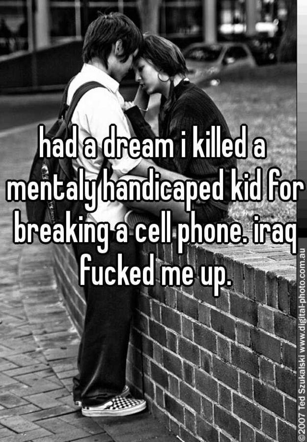 The Heartbreaking Military Confessions Of Whisper