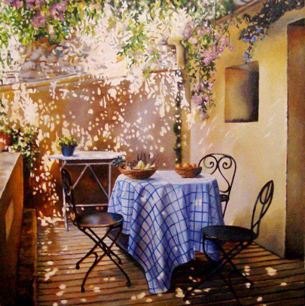 Marisa Terron, pintora española, pintura realista de Marisa Terron, pintores realistas españoles, arte realista de España