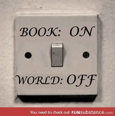 Books are always on :D