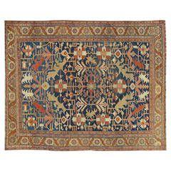 "Antique Heriz Carpet 9'7""x12 Rugs on carpet, Antiques, Rugs"