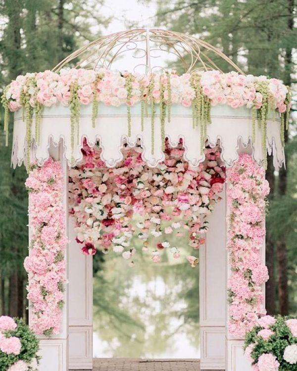 Stylish Wedding Ceremony Decor: 83+ Dreamy Unique Wedding Backdrop Ideas In 2020
