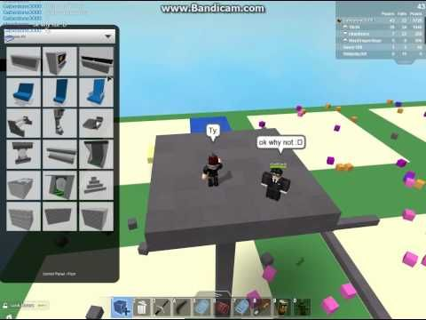 Roblox: Build a hideout and sword fight (CHEATS/GLITCHES) Part 4