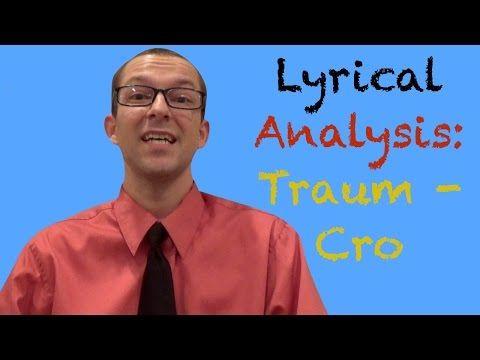 Traum - Cro: Lyrical Analysis