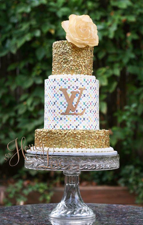 Edible Cake Images Louis Vuitton : 25+ best ideas about Louis vuitton torte on Pinterest ...