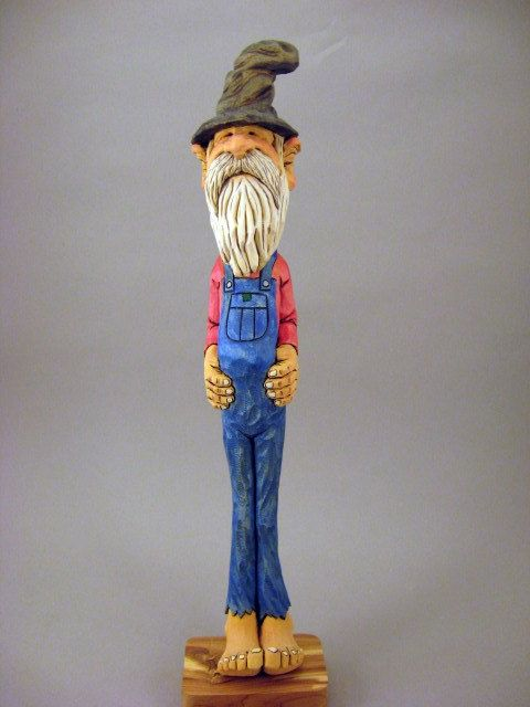 Hand Carved Hillbilly Caricature By Carvingsbytony On Etsy