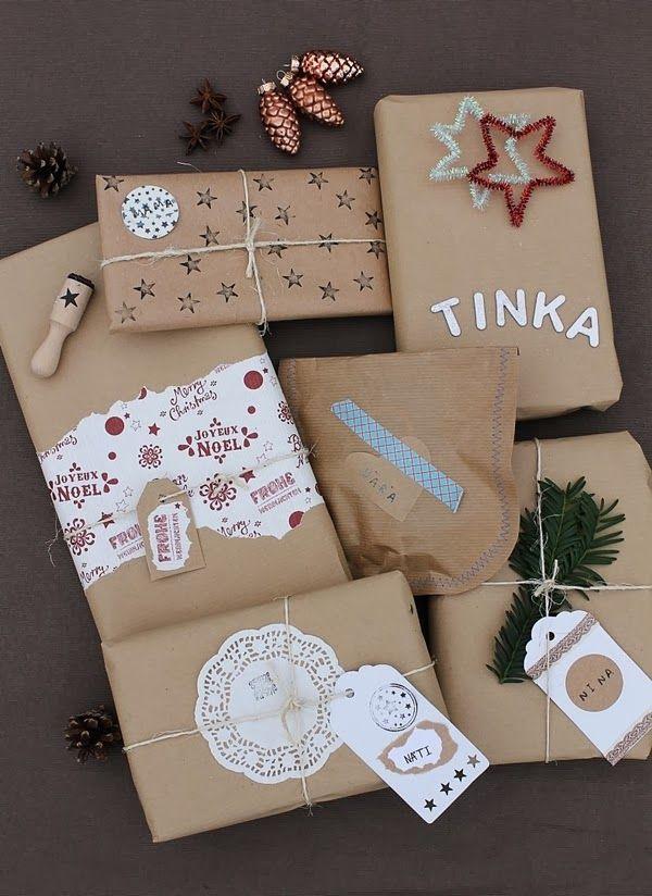 25 einzigartige weihnachtsgeschenke einpacken ideen auf. Black Bedroom Furniture Sets. Home Design Ideas