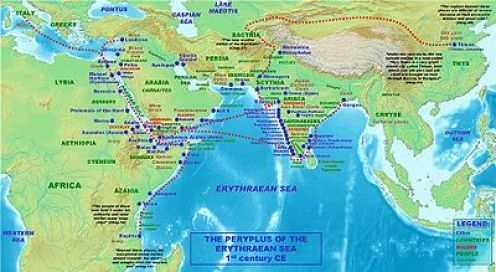 The trade routes depend on the geographical region through which they pass. Routes through mountains and deserts are naturally difficult...