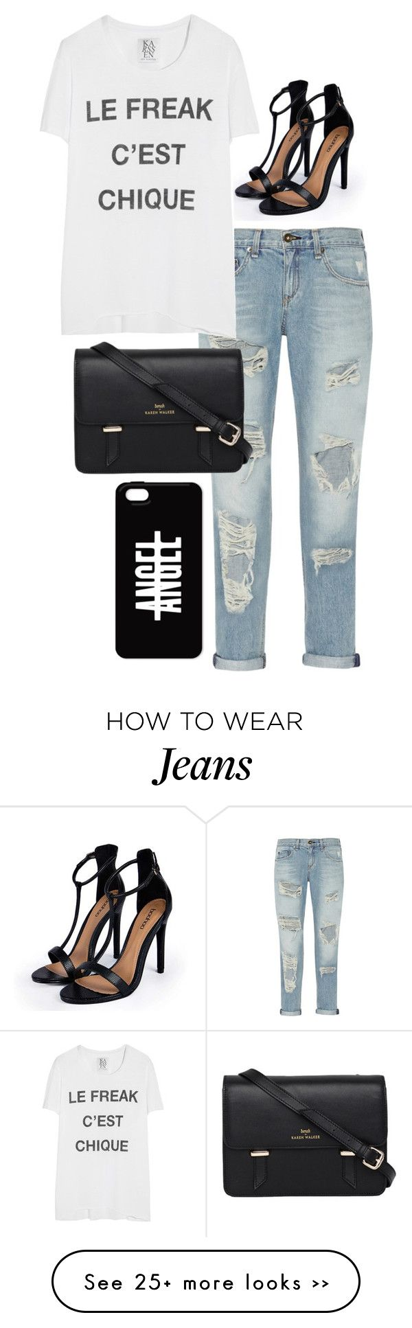 """boyfriend jeans and baggy tees"" by xoxo-jamielynn on Polyvore"