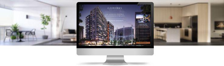 Gasworks Residences Website Design | iCreate Advertising