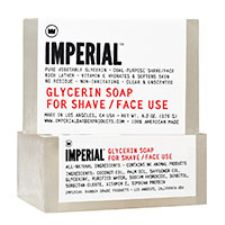 Imperial Barber Glycerin Shave and Face Soap