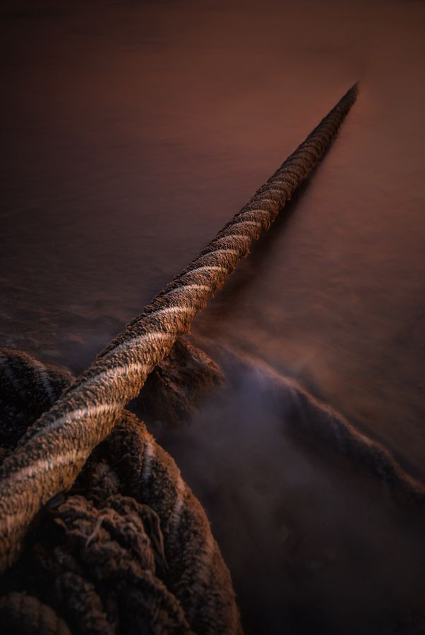 """""""pulling the string"""" by Fernando Crego  ( we've been called to hold the rope for others)"""