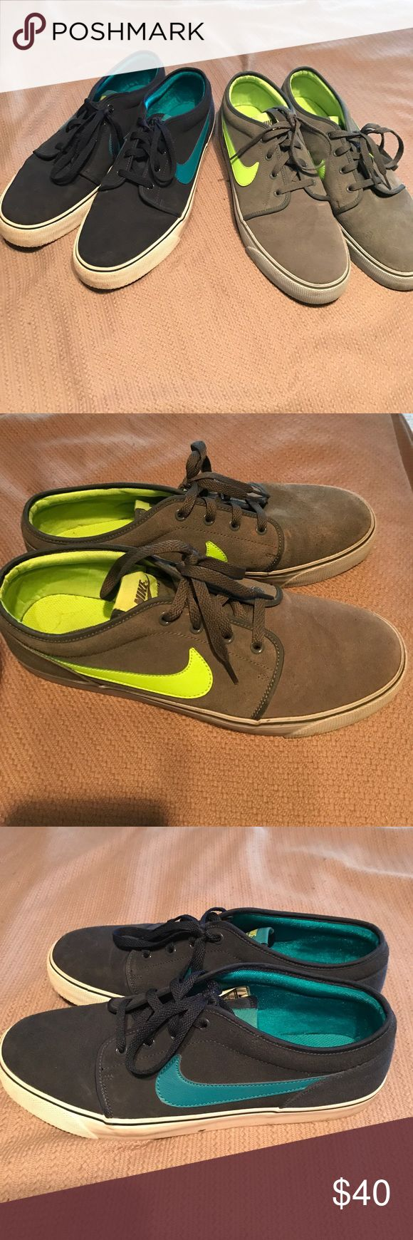 2 pairs of Nike dress shoes (can lower prices) Two pairs of Nike dress shoes… Worth it it's a steal! Nike Shoes Sneakers