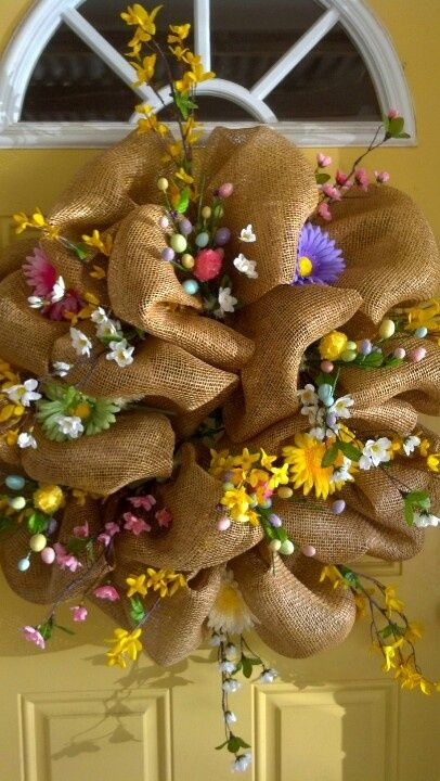 Spring craft ideas for adults via anita cannon crafts for Spring craft ideas for adults