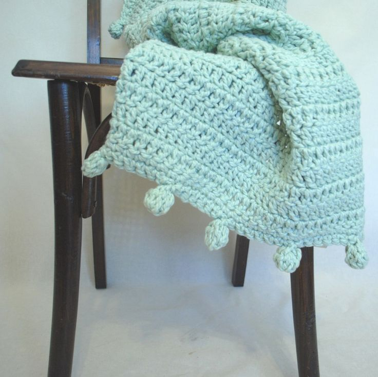 Comprar Pié de Cama Pompón en Che María Crochet