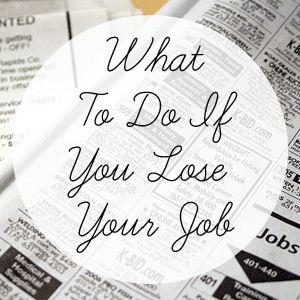 What To Do If You Lose Your Job. Also make sure you stop by your local Goodwill Jobs Campus or VEC. There are a lot of resources available to help you with the next steps in the job search process. To find out more visit www.goodwillvalleys.com