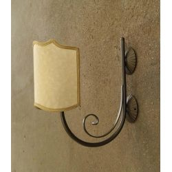WROUGHT IRON WALL LAMP design . 182