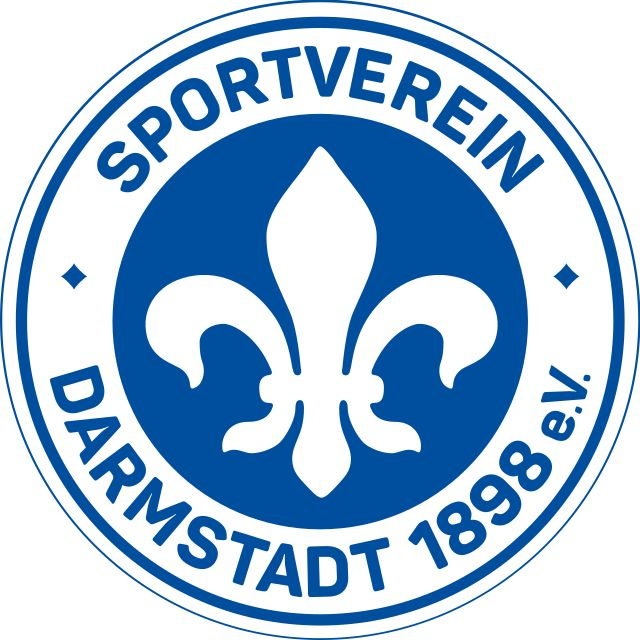 SV Darmstadt 98 of Germany crest.