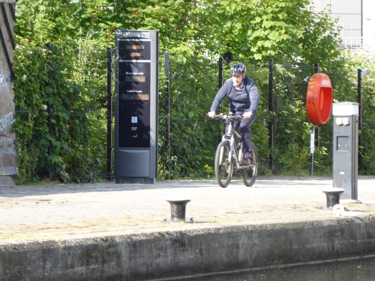 The Falco Cycle Counter is an intelligent traffic management product designed to help local authorities proactively manage their cycle planning.  http://www.falco.co.uk/products/advanced-cycle-products/cyclecounter/