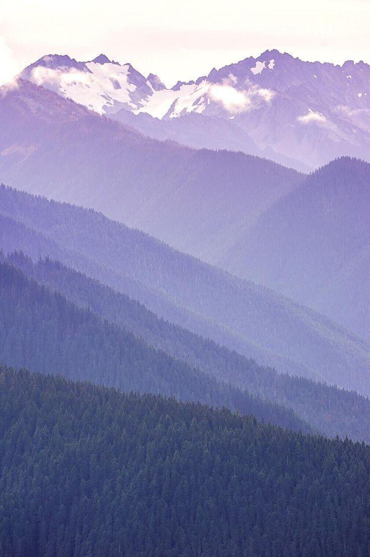 Nature Beautiful Scenery Purple Mountain Majesty Olympic National Park Wa Oc 4000x6000 With Images Mountain Landscape Photography