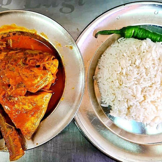 Nasi Kandar Gulai Kepala Ikan Gulai Makanan