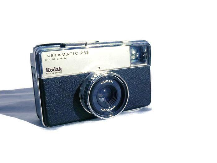 Kodak Instamatic 233, Vintage Camera, 126 Film Camera, Kodak Camera, 126 Film, Vintage Kodak, Compact Camera, Point And Shoot Camera by HarmlessBananasTribe on Etsy
