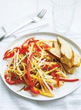 Salade de mangue verte et poulet au cari Recettes | Ricardo