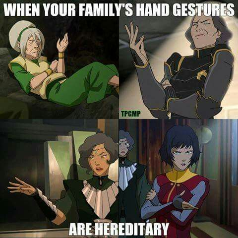 It's a Beifong thing