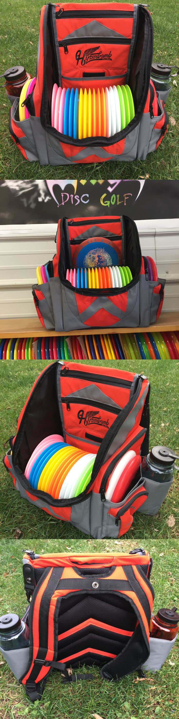 Disc Golf 20851: Wingz Disc Golf * Brand New Millenium Hyzerbomb Flakx Backpack * Holds 25+ Discs -> BUY IT NOW ONLY: $165 on eBay!
