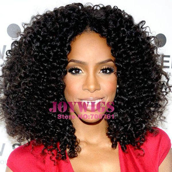 meche bresilienne boucle | Stock Celebrity Kelly Rowland Brazilian Virgin Afro Kinky Curly Human ...