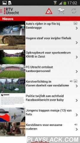 RTV Utrecht  Android App - playslack.com , Nieuws en informatie uit de provincie en stad Utrecht.- Het laatste nieuws uit de regio- Live radio- Live TV- Stuur een nieuwstip met foto- File informatie- Weer- Uitzending gemist, Bureau Hengeveld- Livestreams UStad en Bingo FM
