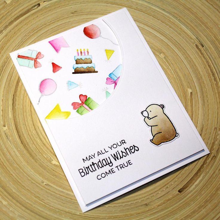 Как необычно подписать открытку подруге на день рождения