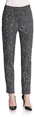 Tweed Silk Stripe Pants - Shop for women's Pants - GALAXY Pants